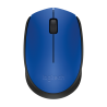 MOSUE LOGITECH M170 BLUE-K OPTICO INALAMBRICO MINI RECEPTOR
