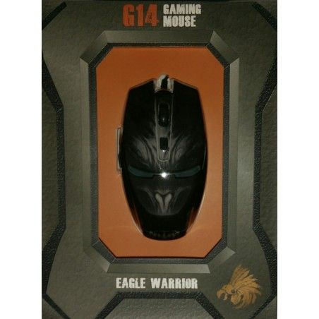 MOUSE OPTICO GAMING EAGLE WARRIOR G14