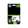 CARTUCHO HP 670 XL NEGRO 14ml