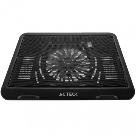 "BASE ENFRIADORA ACTECK ENTRY 700 NEGRO P/NOTEBOOK 15"" 1 VENT"